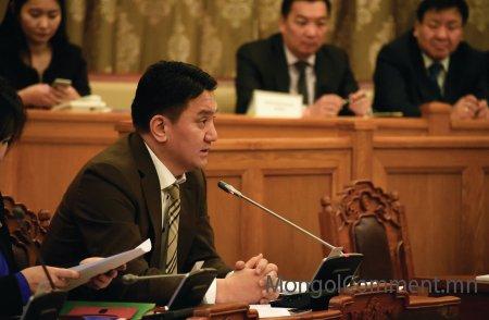 Ж.Ганбаатар: Төсөвт тодотгол хийхгүйгээр зохицуулалт хийх боломжийг засгийн газарт олгож байгаа