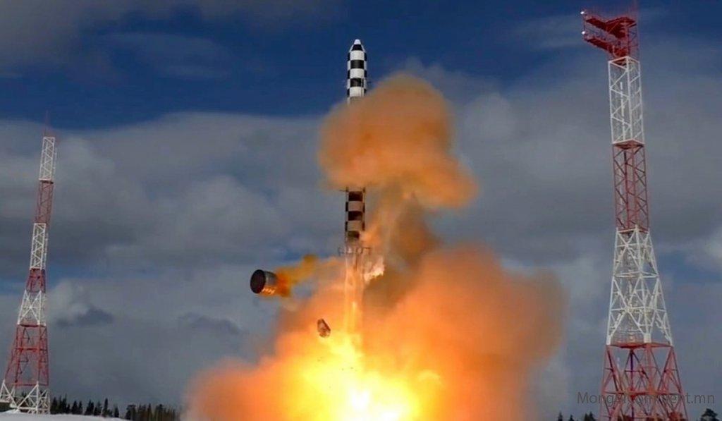 Оросын шинэ зэвсгийг цөмийн бөмбөгнөөс ч аюултай гэж Хятад үзжээ