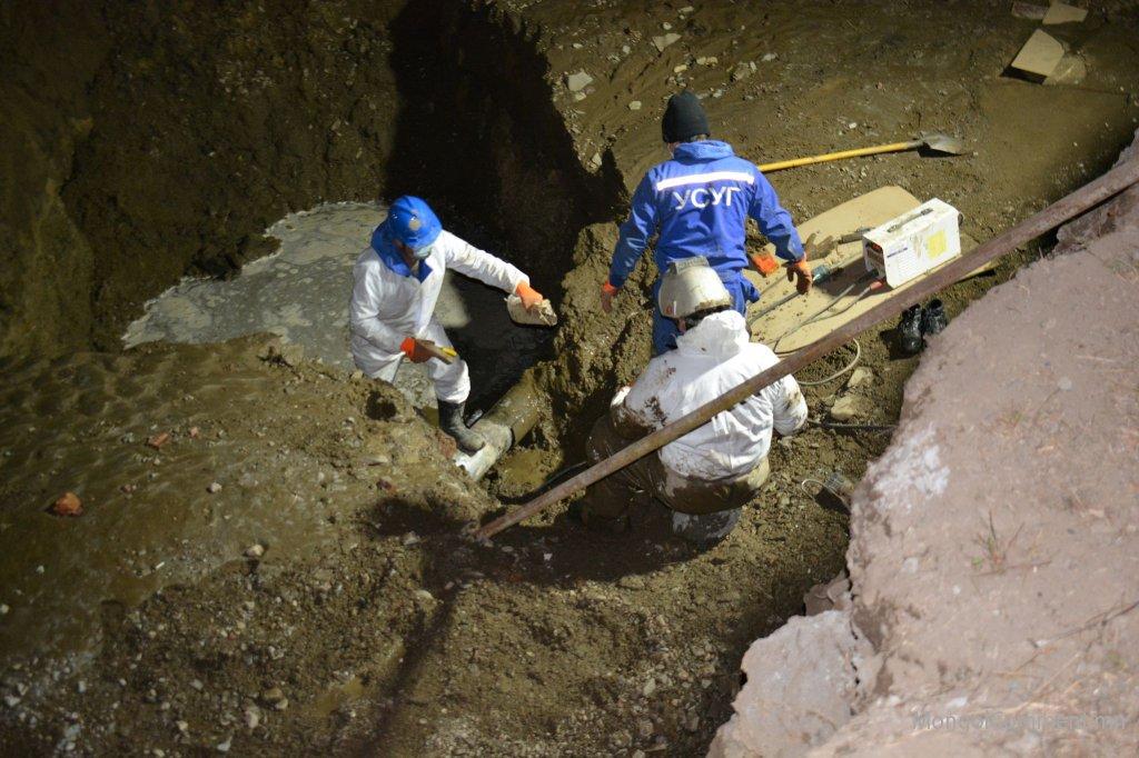 Монком констракшн ХХК цэвэр усны шугам сүлжээг гэмтээж ХӨСҮТ-ийн цэвэр усыг доголдуулсан ноцтой зөрчлийг үүсгэлээ